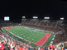 Navy Midshipmen at Houston Cougars Football