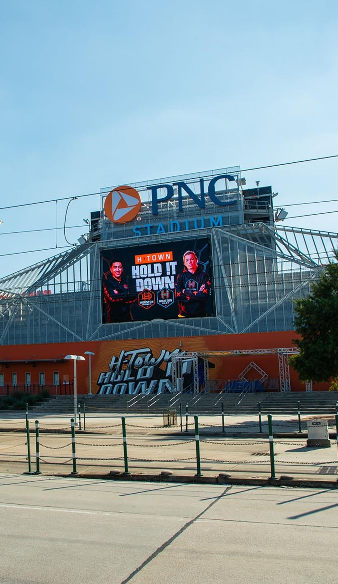 A Houston Dynamo FC live event