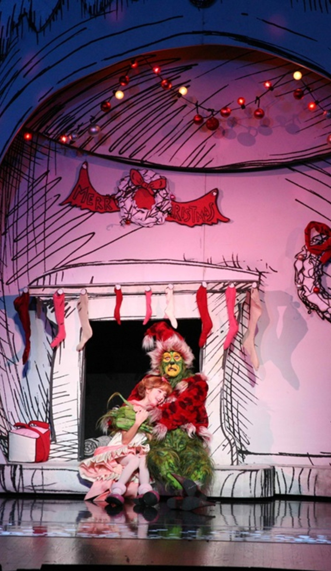A How The Grinch Stole Christmas live event