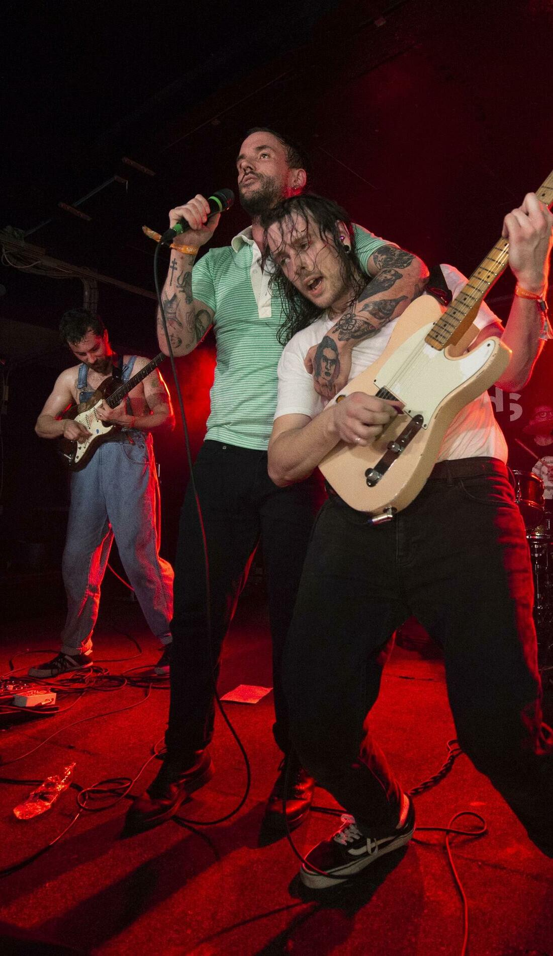A IDLES live event