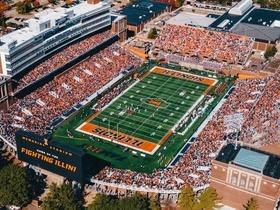 Illinois Fighting Illini at Northwestern Wildcats Football