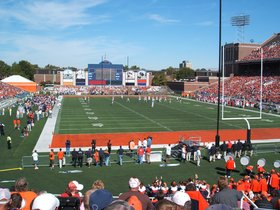 Wisconsin Badgers at Illinois Fighting Illini Football