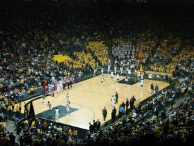 Michigan Wolverines at Iowa Hawkeyes Basketball