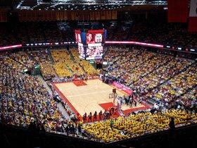 Kansas Jayhawks at Iowa State Cyclones Basketball