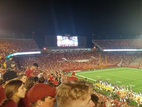 TCU Horned Frogs at Iowa State Cyclones Football