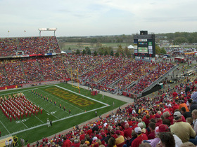 Oklahoma State Cowboys at Iowa State Cyclones Football