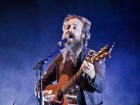 Advertisement - Tickets To Iron & Wine