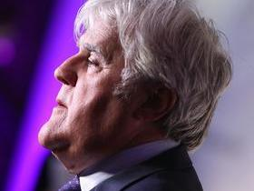 Jay Leno with David Luning