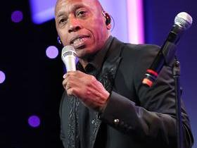 Jeffrey Osborne with Peabo Bryson
