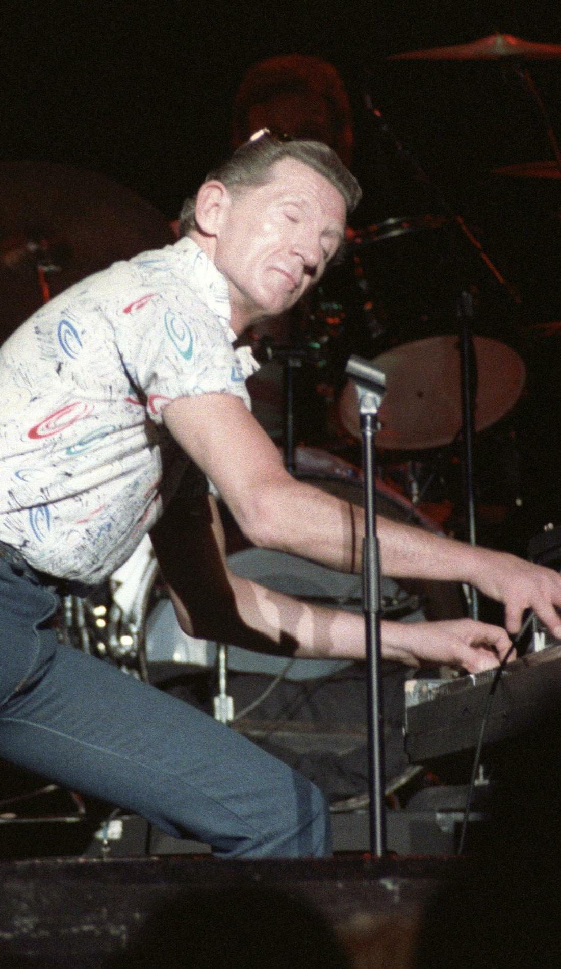 A Jerry Lee Lewis live event