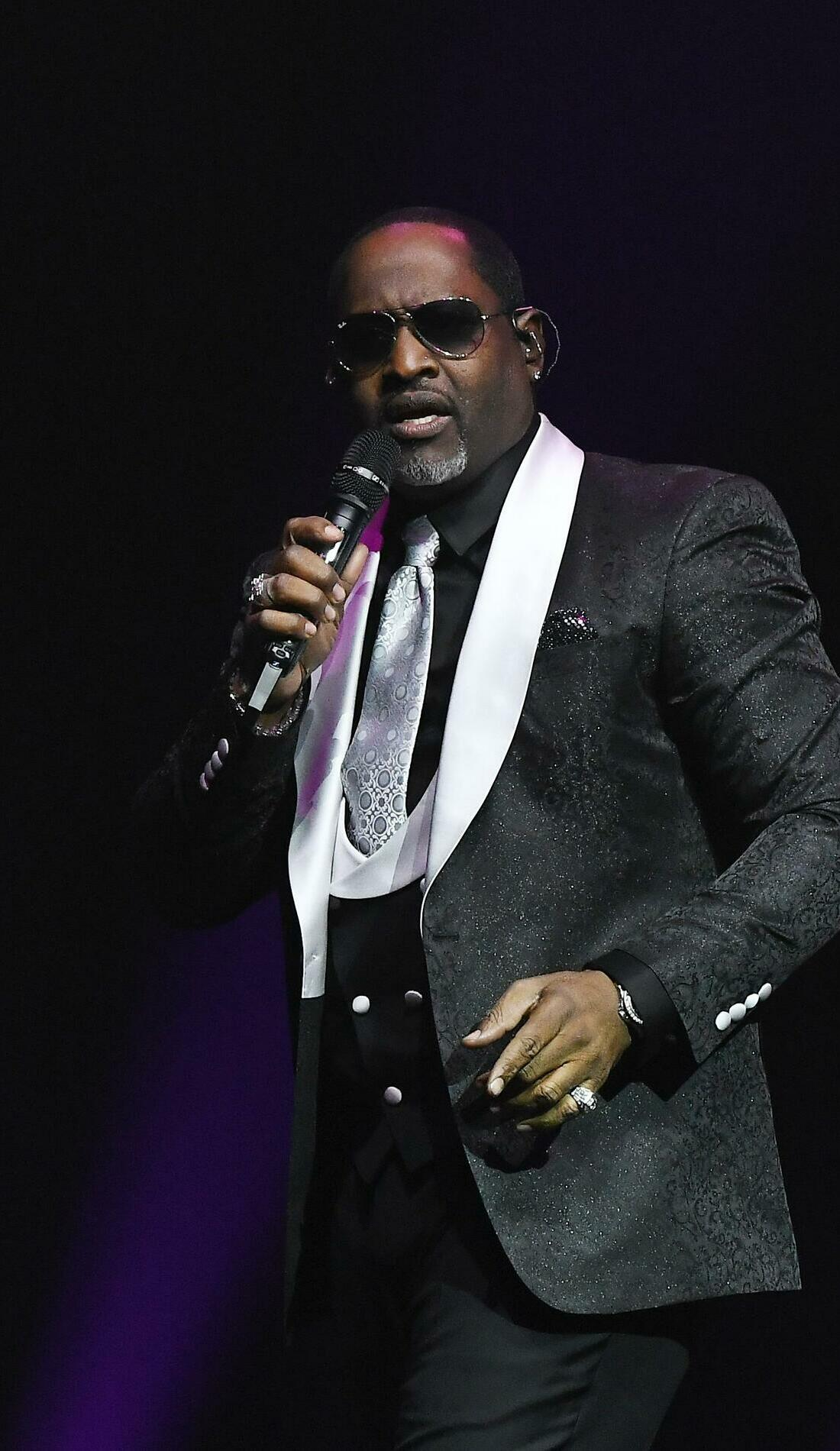 A Johnny Gill live event