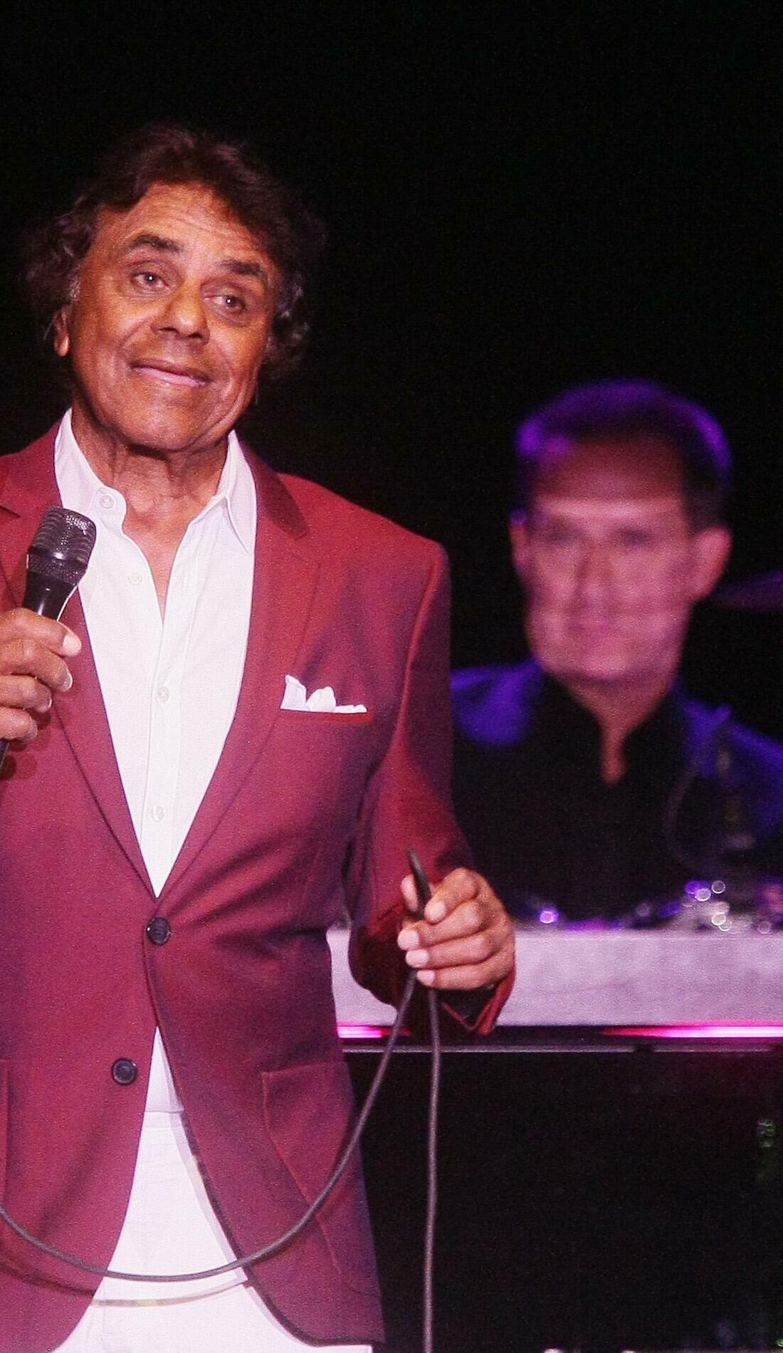 A Johnny Mathis live event