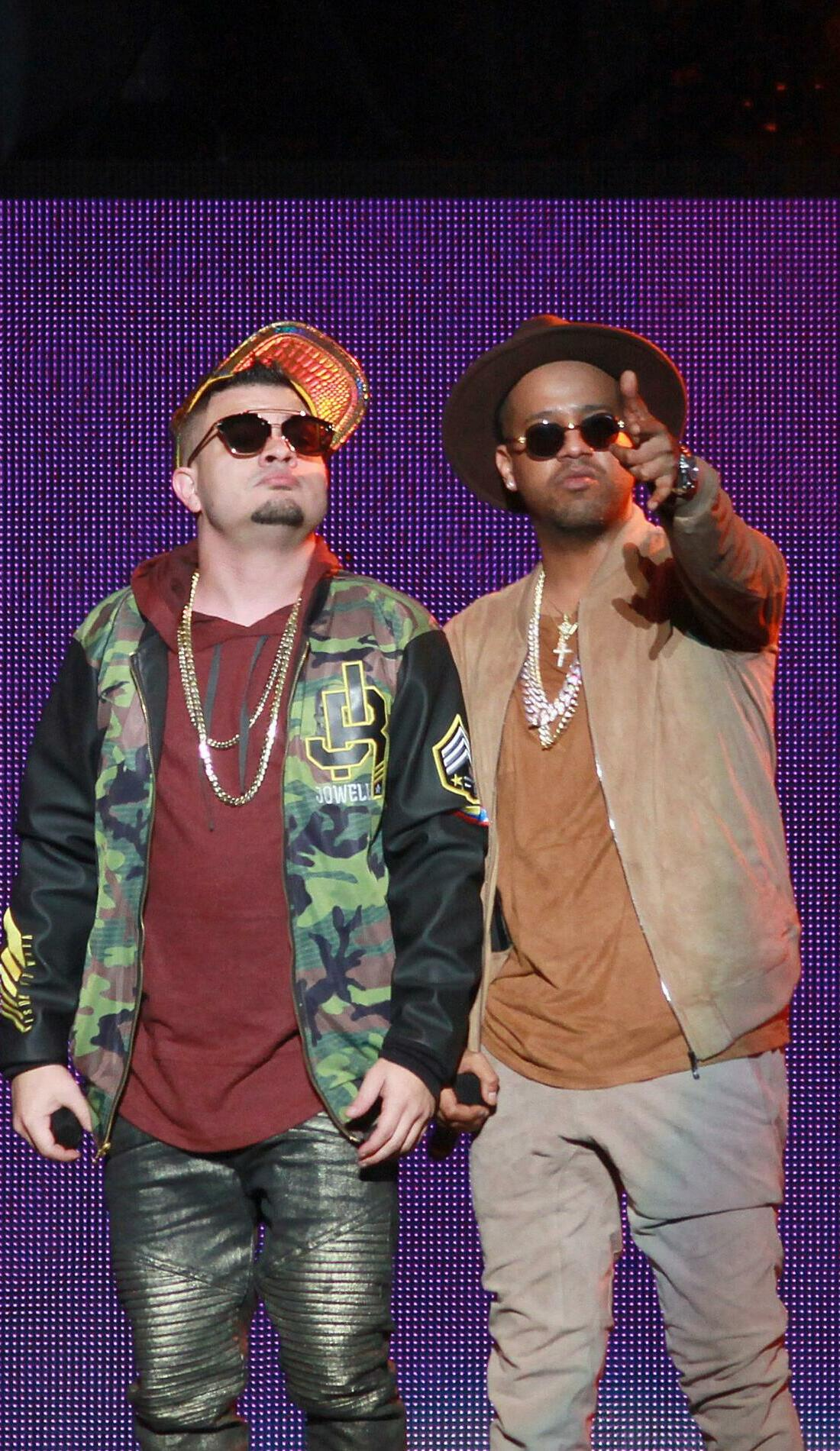 A Jowell Y Randy live event