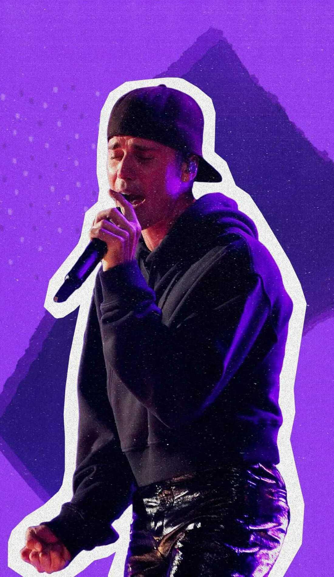 A Justin Bieber live event