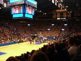 Kansas Jayhawks at Oklahoma Sooners Basketball