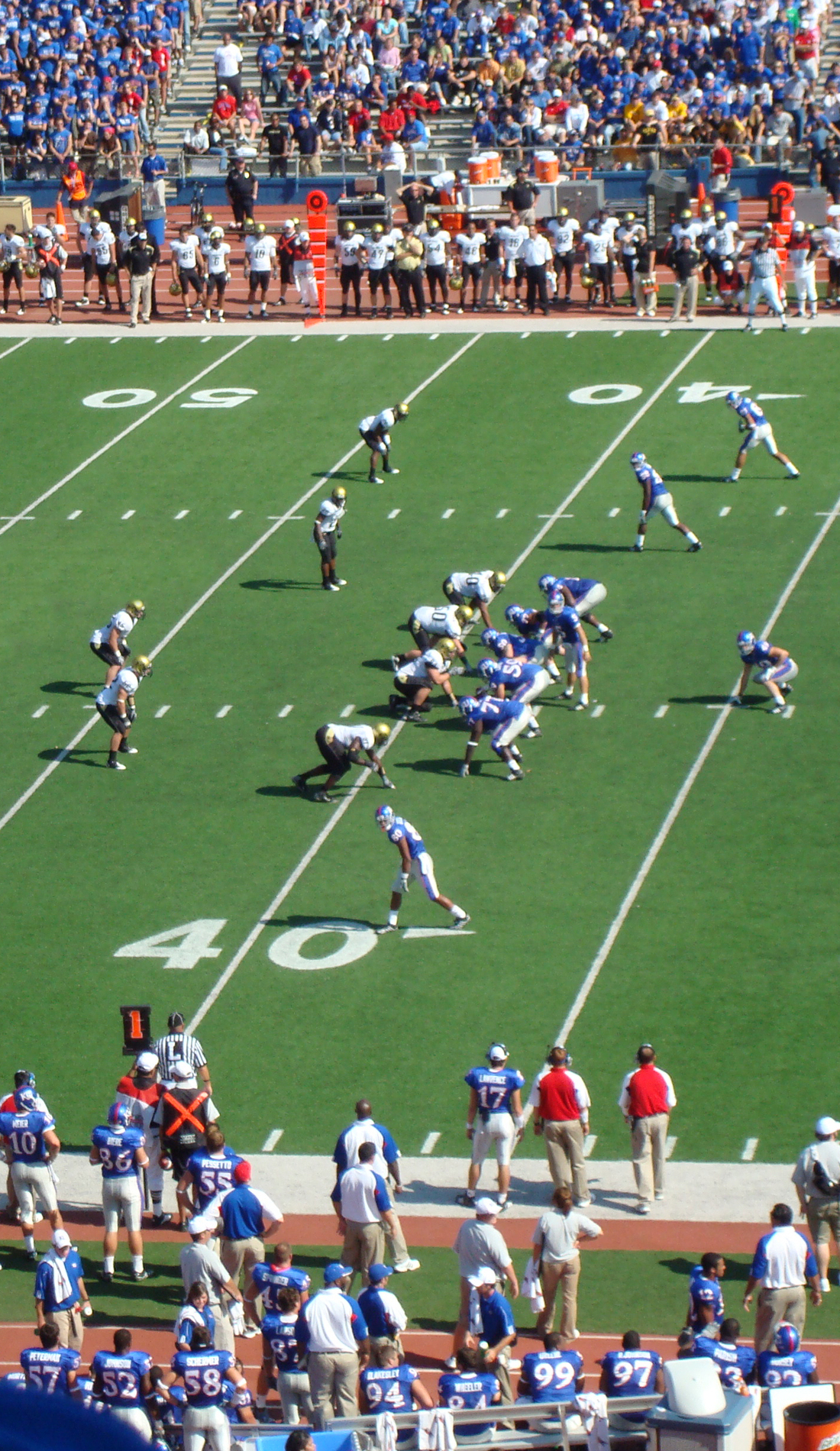 A Kansas Jayhawks Football live event