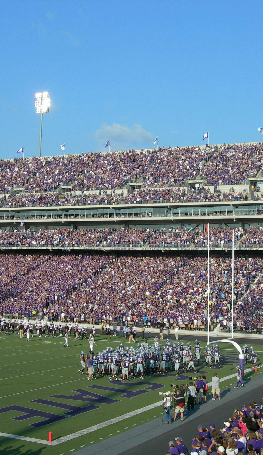 A Kansas State Wildcats Football live event