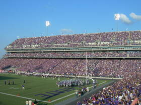 Kansas State Wildcats at TCU Horned Frogs Football