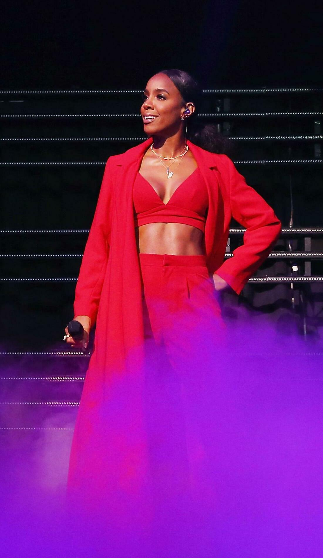 A Kelly Rowland live event