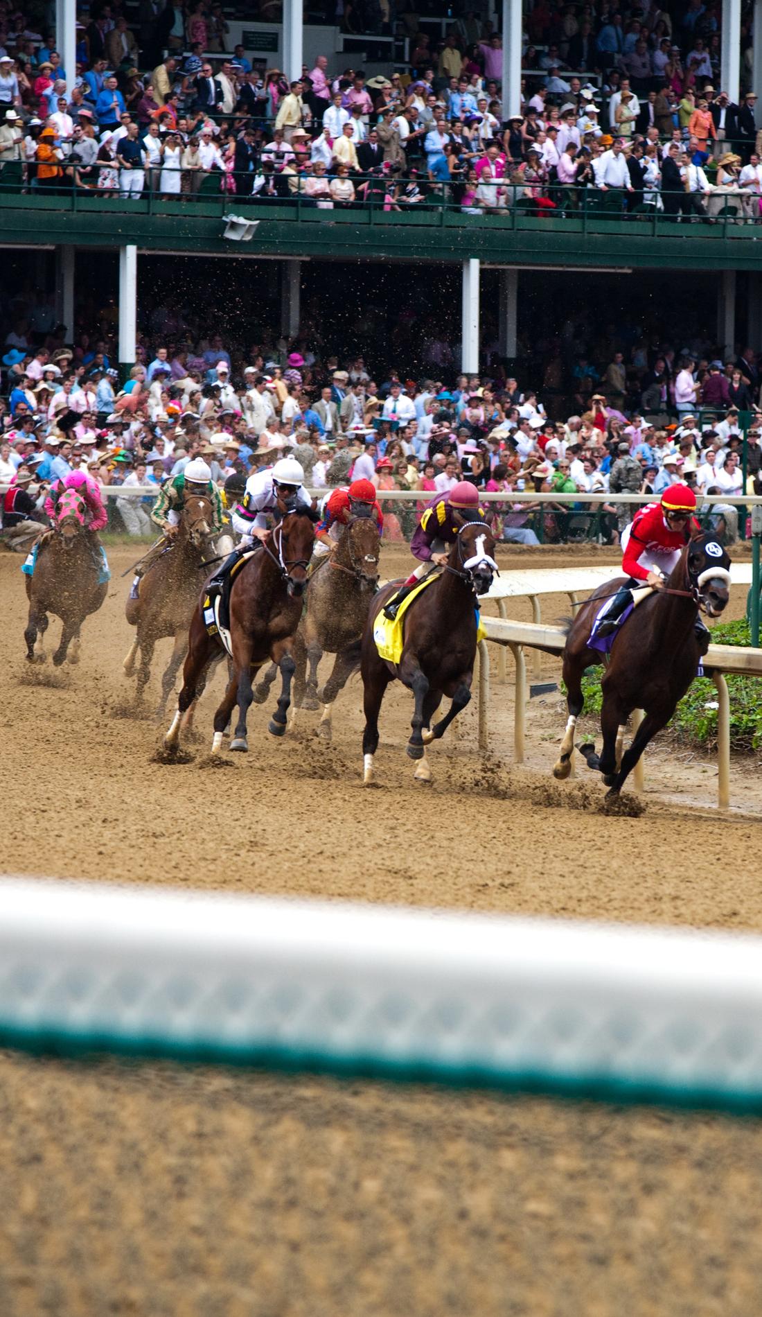 A Kentucky Derby live event