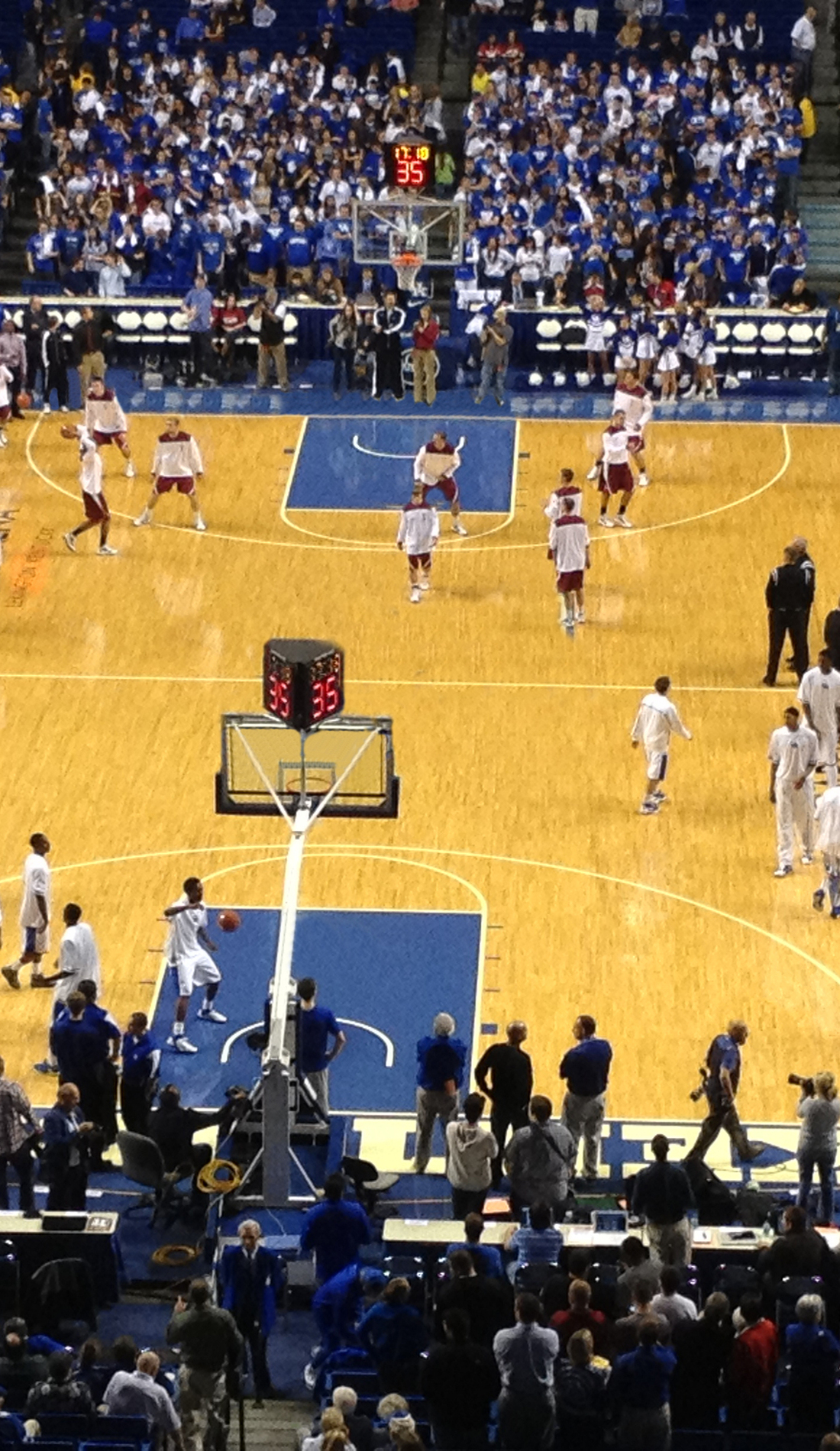 A Kentucky Wildcats Basketball live event