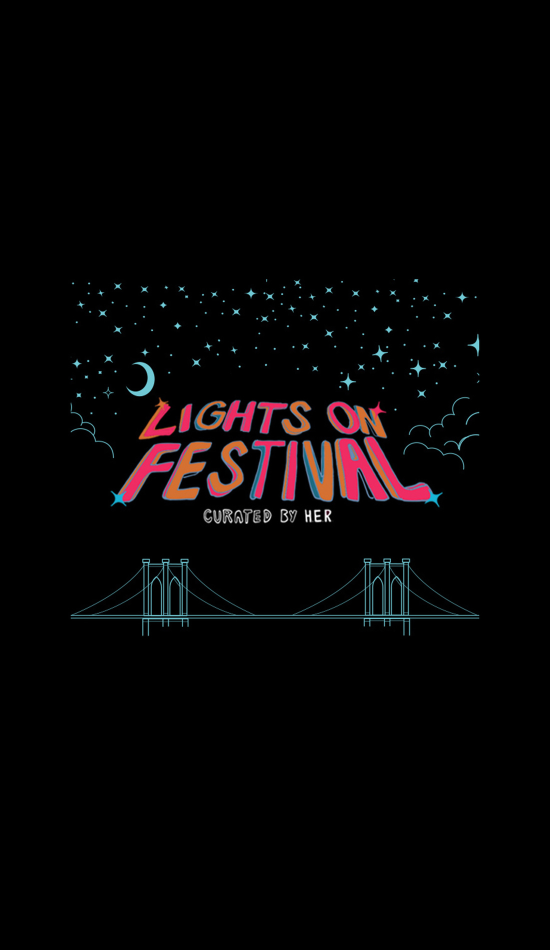 A Lights On Festival live event