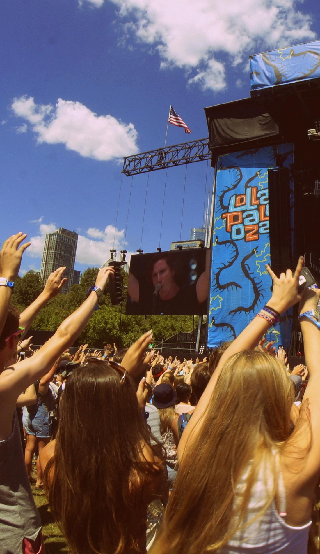A Lollapalooza live event