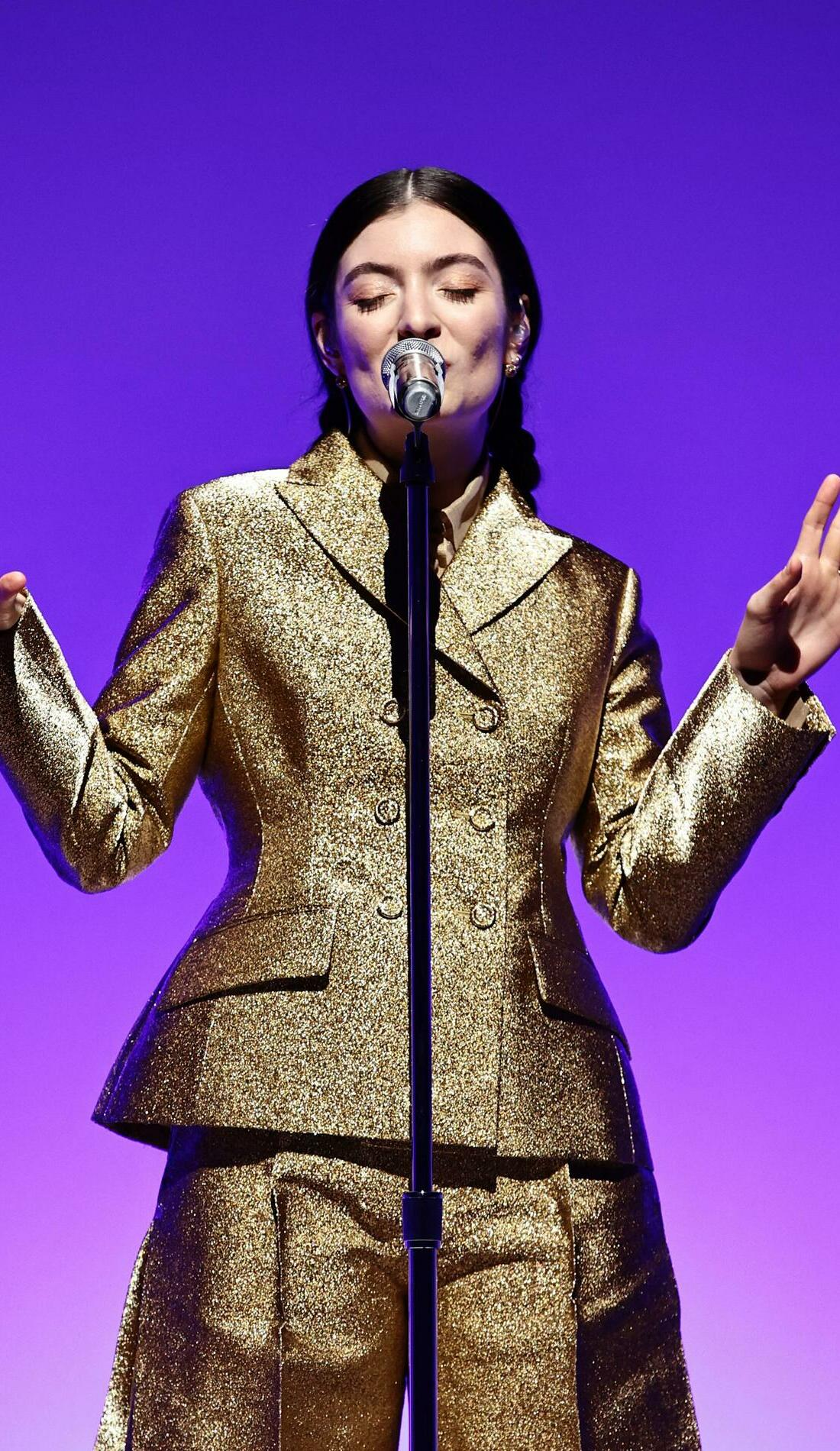 A Lorde live event