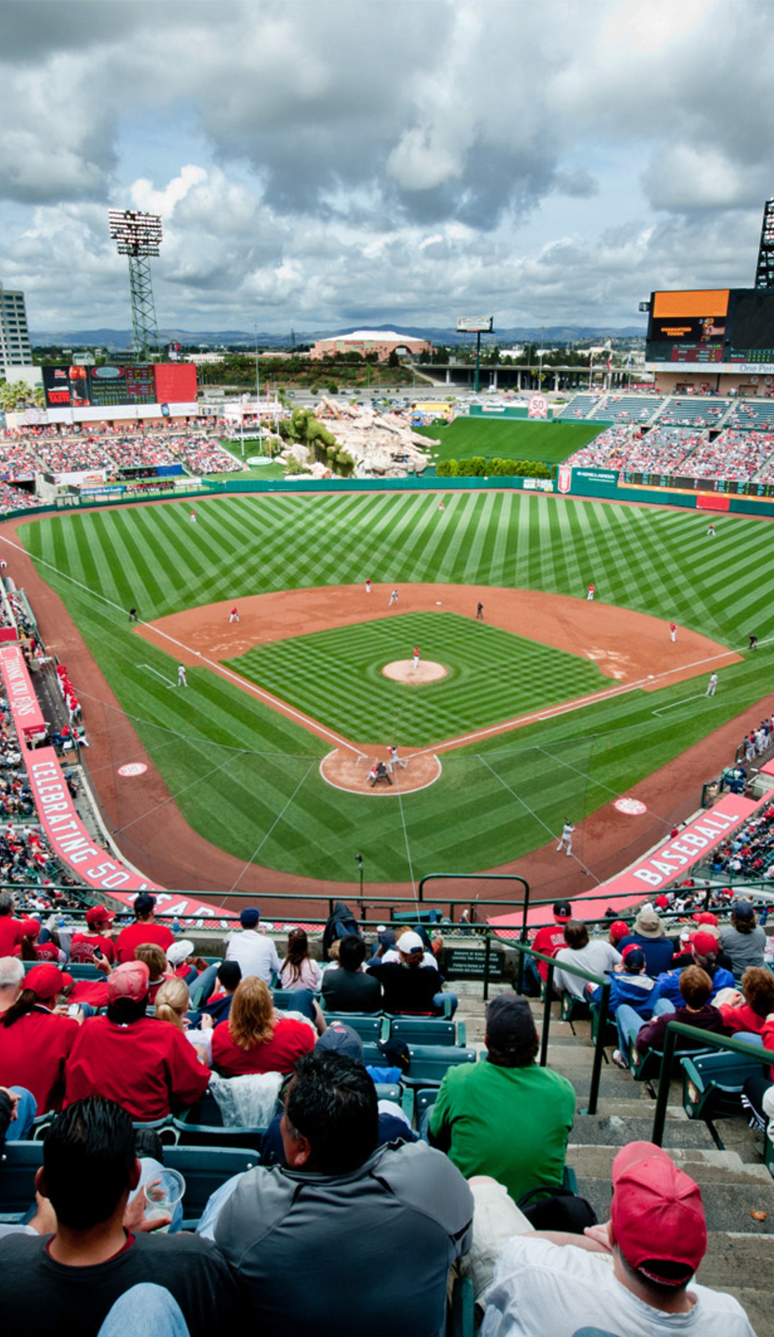 A Los Angeles Angels live event