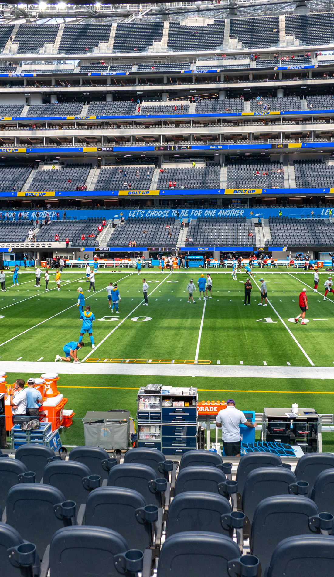 A Los Angeles Chargers live event