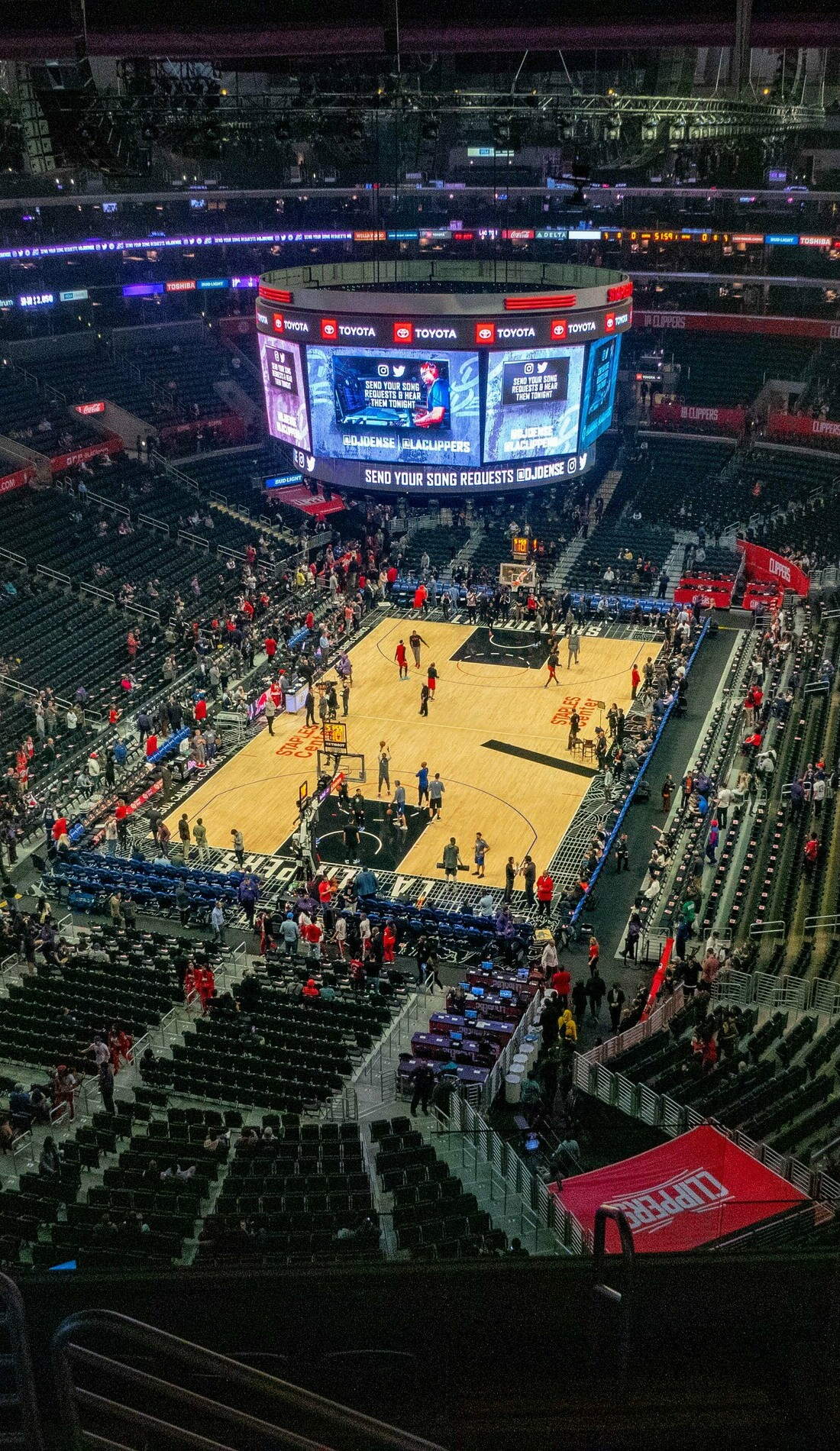 A Los Angeles Clippers live event