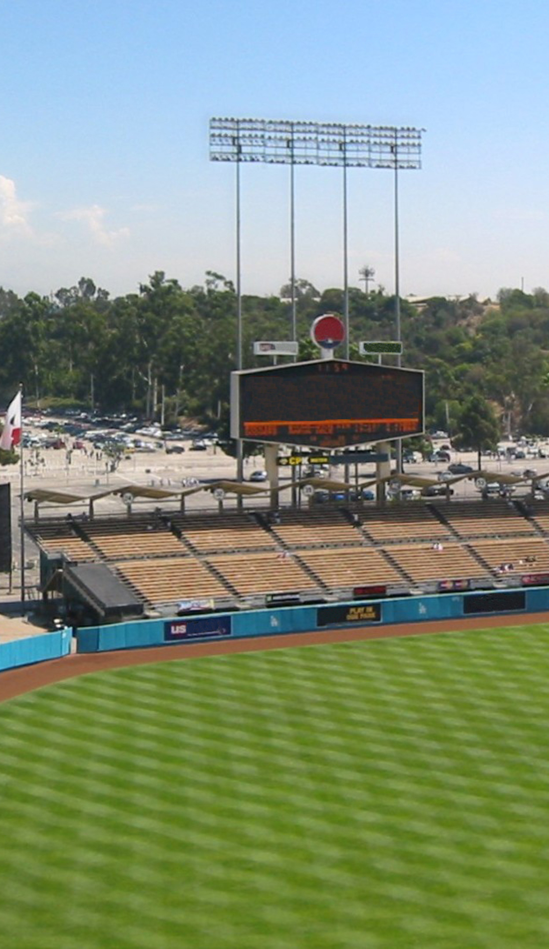 A Los Angeles Dodgers live event