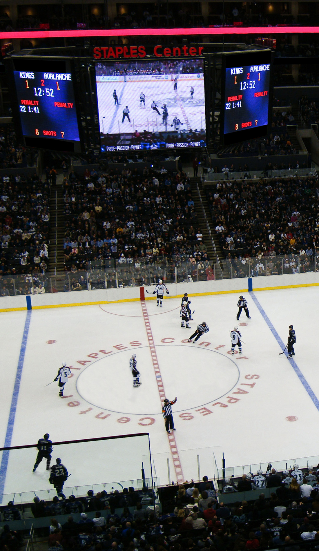 A Los Angeles Kings live event