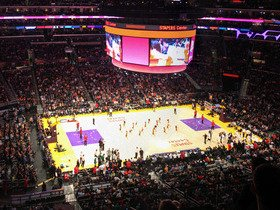 Golden State Warriors at Los Angeles Lakers (Rescheduled from 4/9)