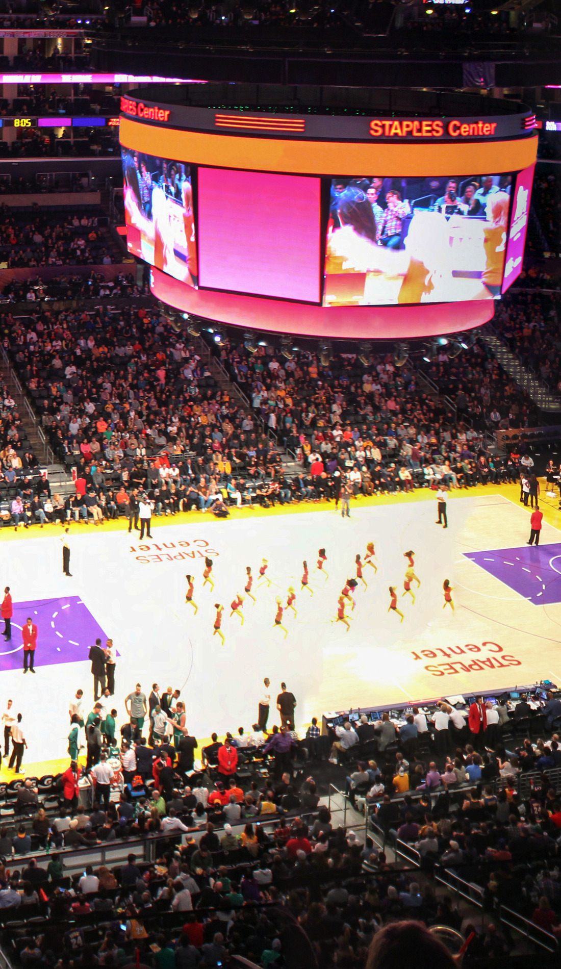 A Los Angeles Lakers live event