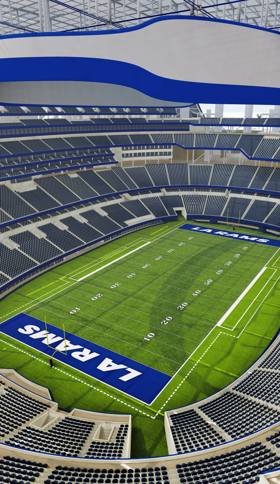 A Los Angeles Rams live event