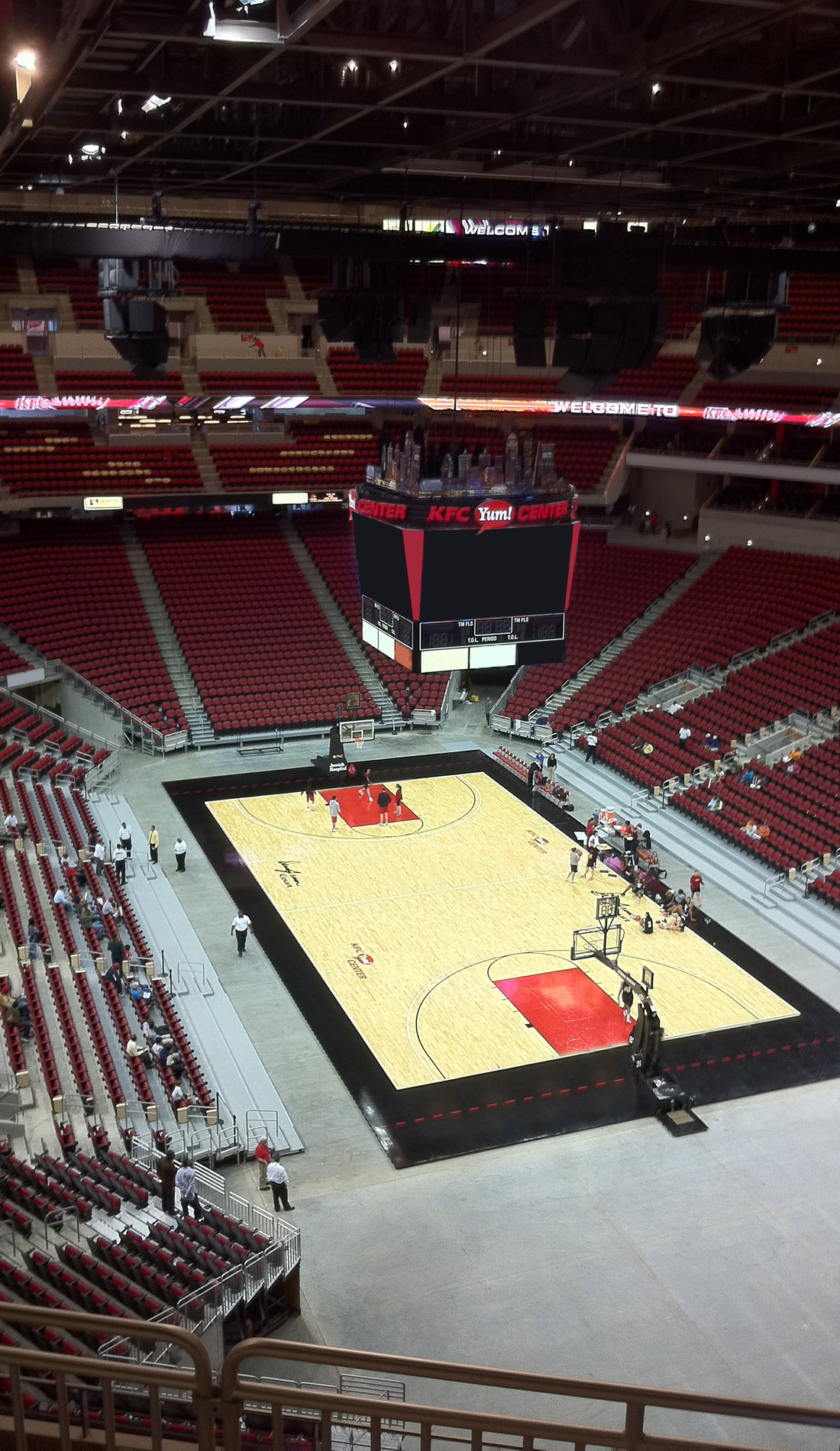 A Louisville Cardinals Basketball live event