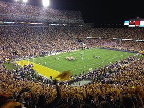 LSU Tigers at Vanderbilt Commodores Football