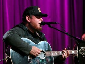 Luke Combs with Jameson Rodgers