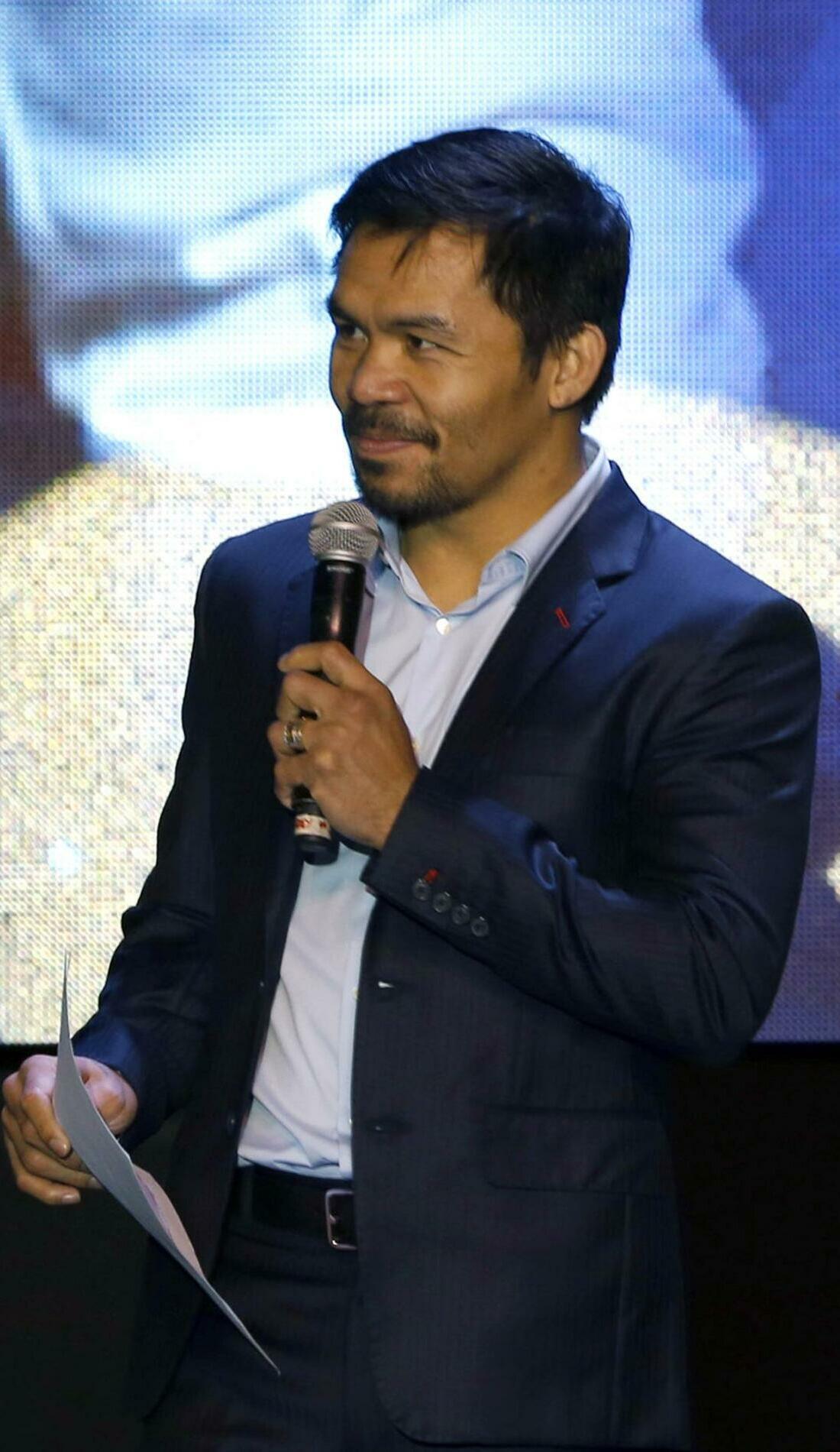 A Manny Pacquiao live event