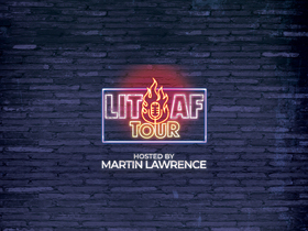 Martin Lawrence with Rickey Smiley and Lit AF Tour