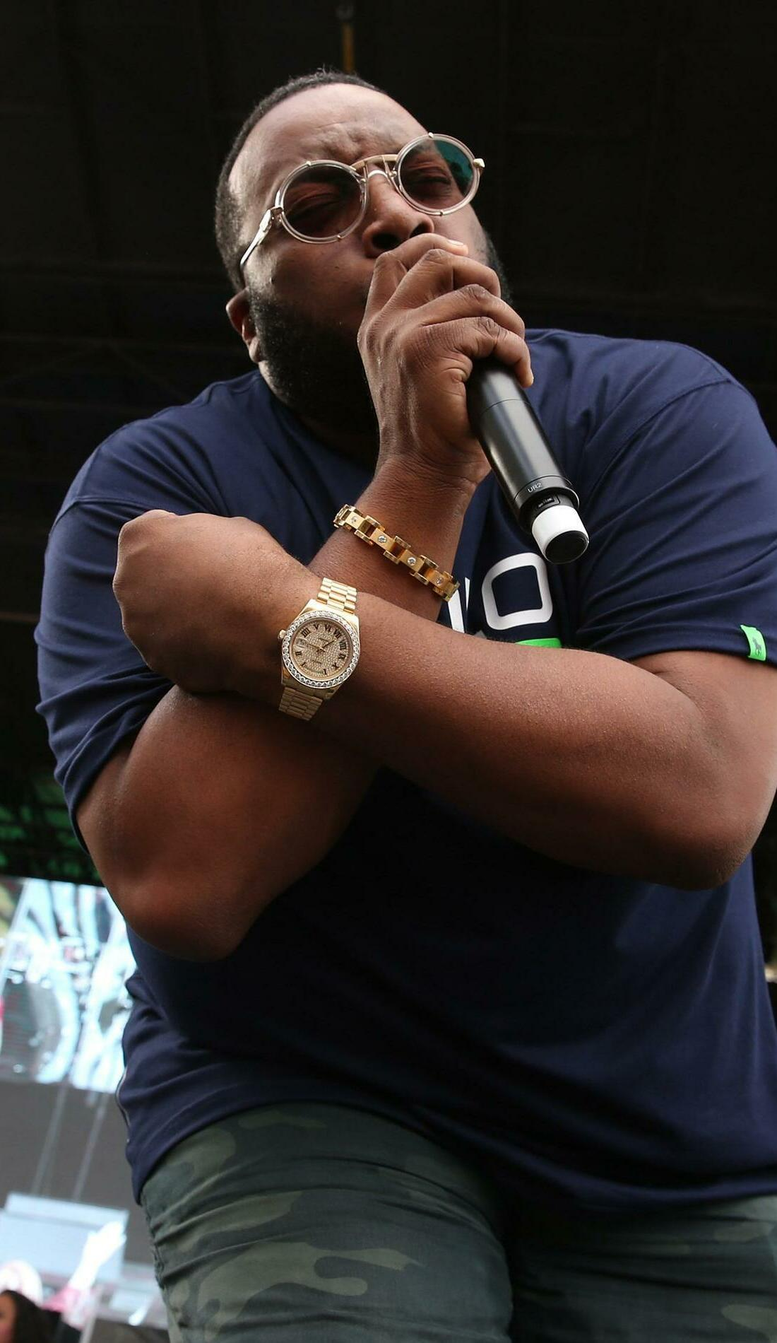 A Marvin Sapp live event