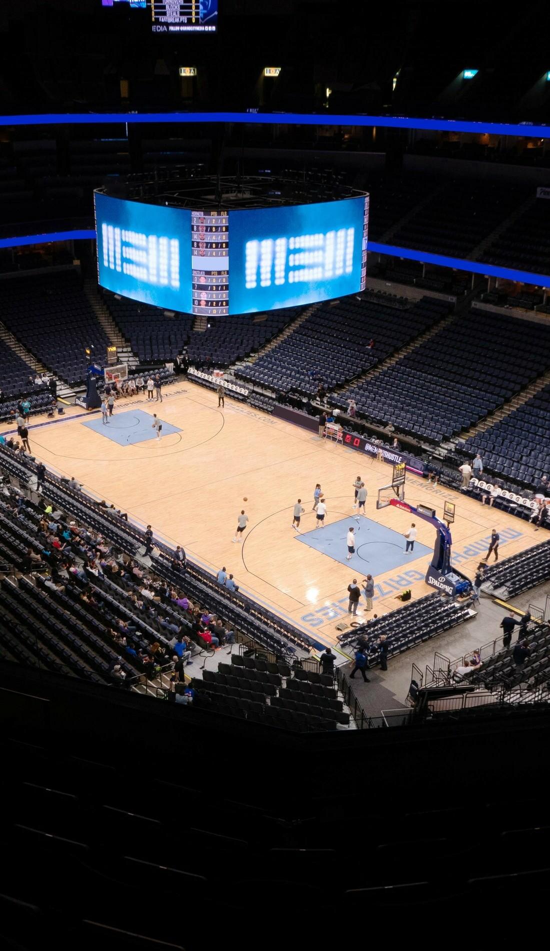 A Memphis Grizzlies live event