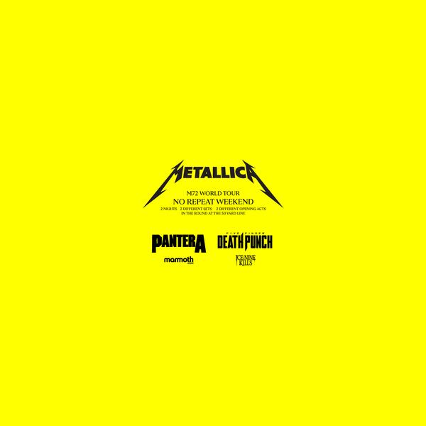 Metallica Concert Tickets and Tour Dates   SeatGeek