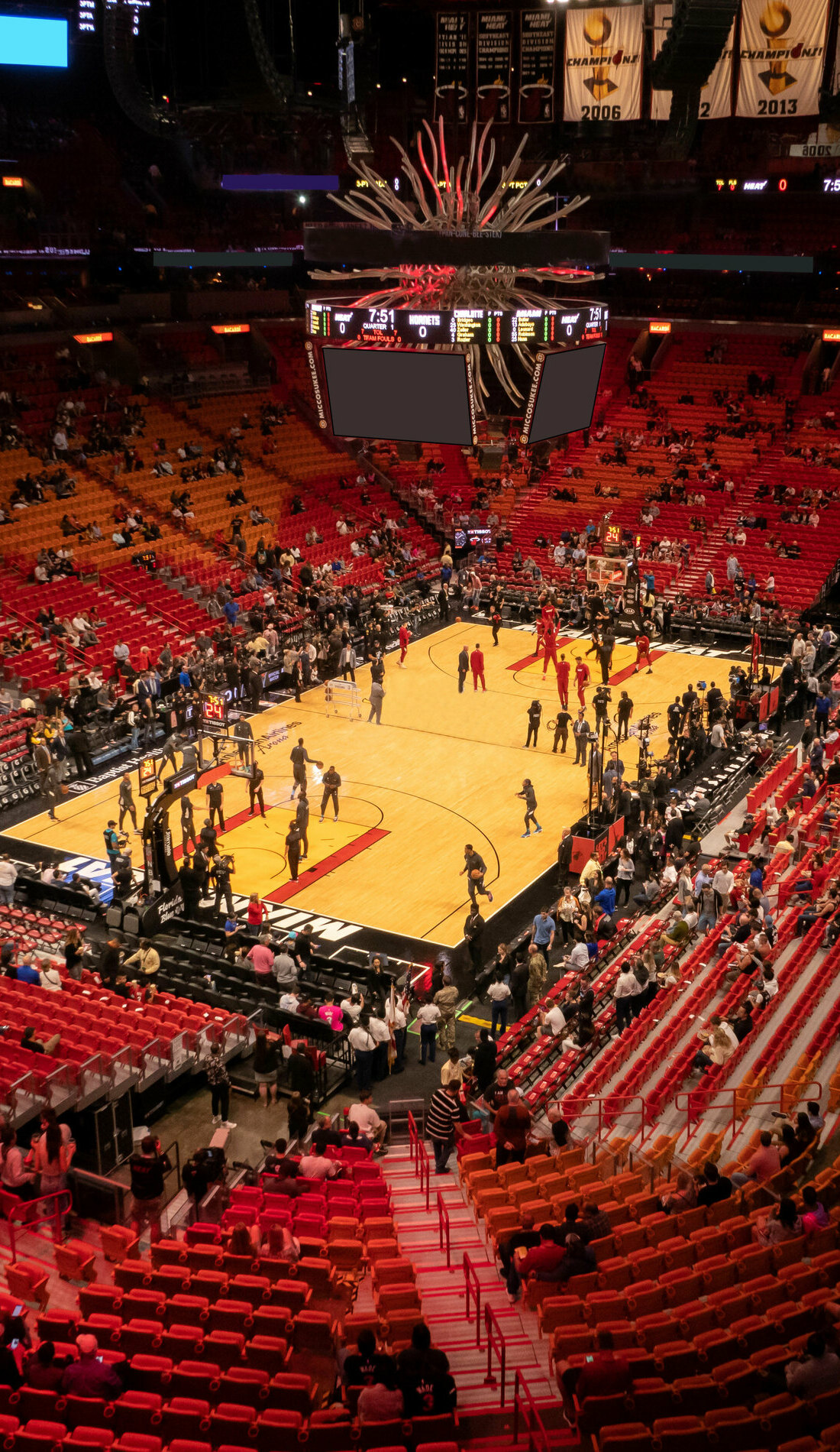 A Miami Heat live event