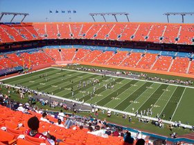 Miami Hurricanes at Florida International University Golden Panthers Football