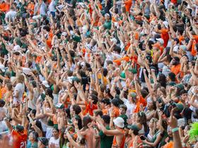 Advertisement - Tickets To Miami Hurricanes Football