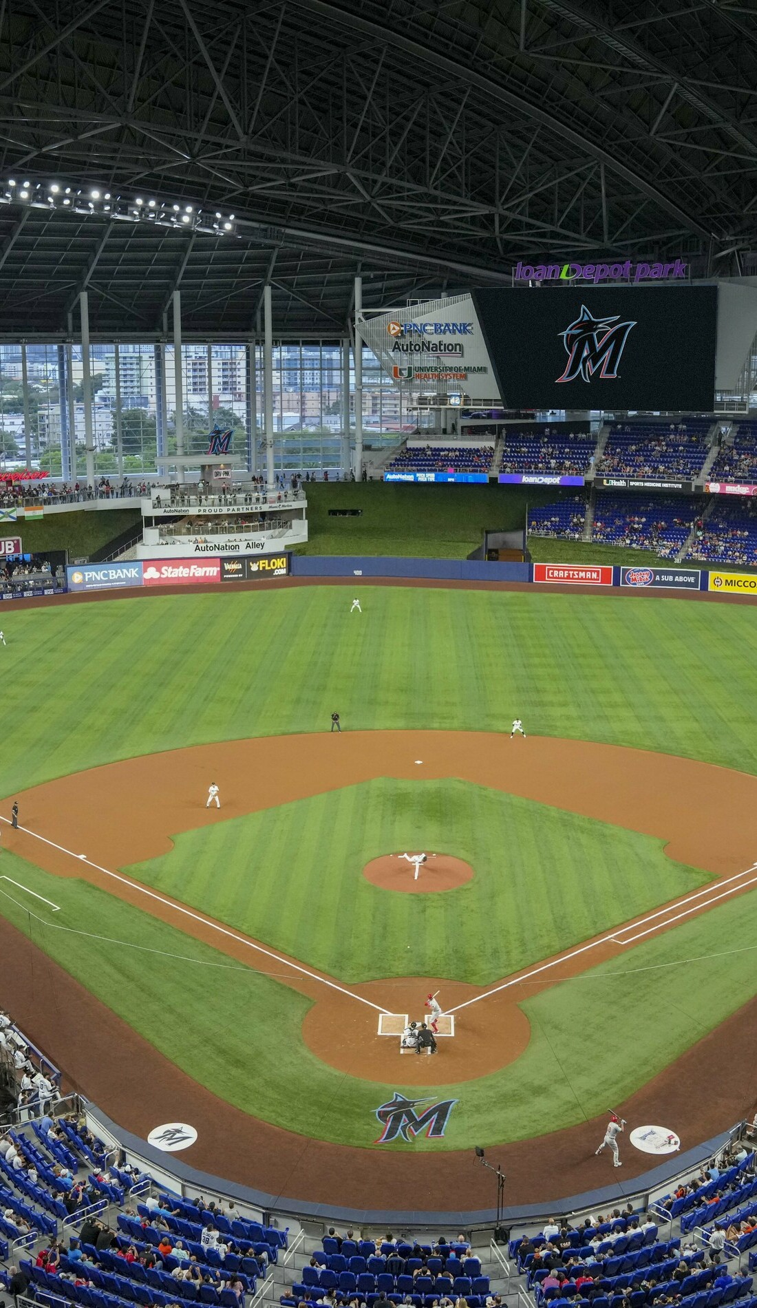 A Miami Marlins live event