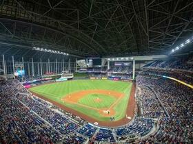 Texas Rangers at Miami Marlins