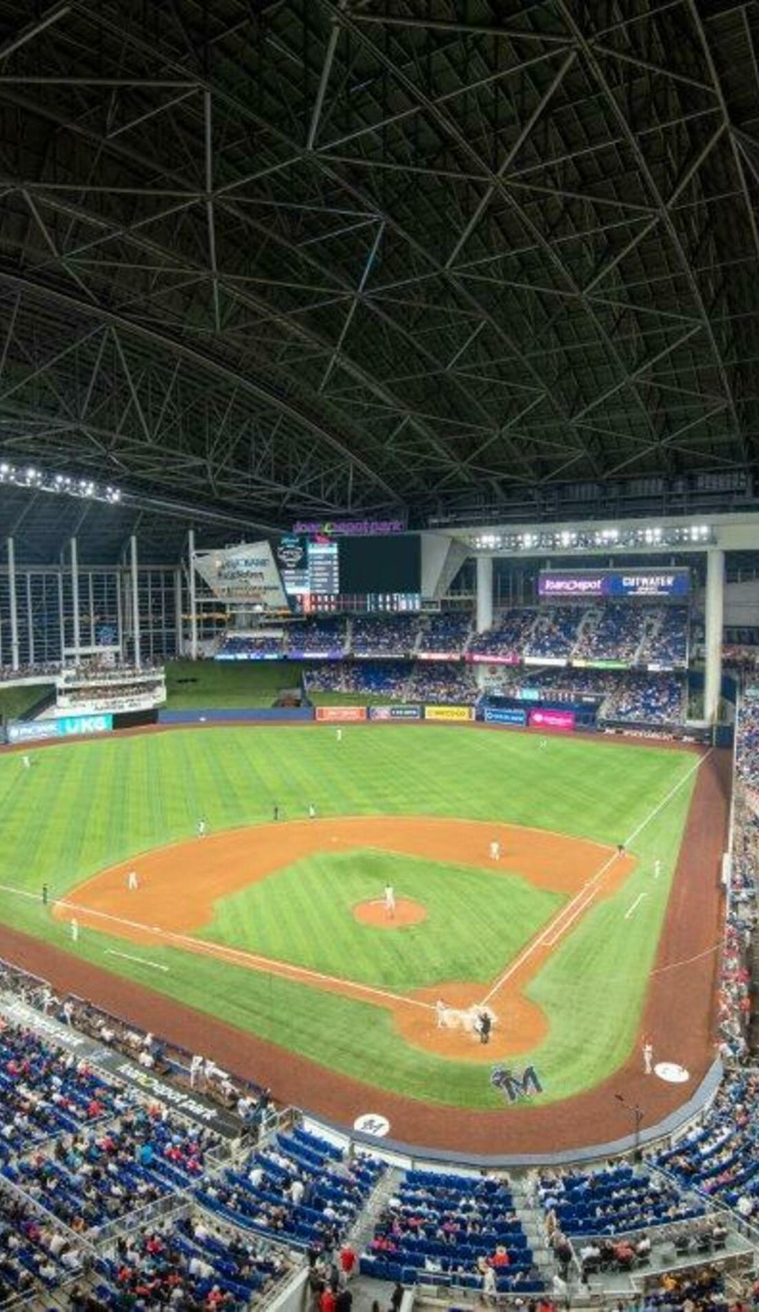 A Miami Marlins live event